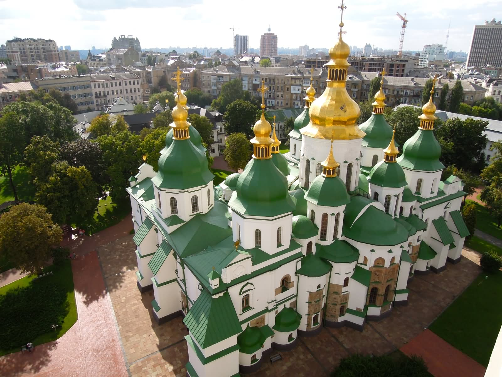 Aerial-View-Picture-Of-The-Saint-Sophia-Cathedral-